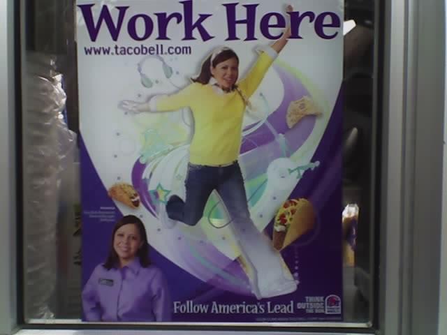 My New Dream Job Taco Bell Tancast