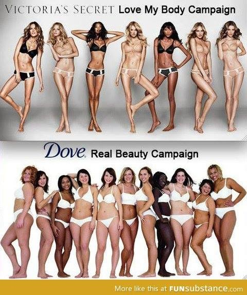 Tell me a man wasn't behind this Dove campaign, encouraging women to take off their shirts (to prove that Dove Ultimate Skin stays on your body